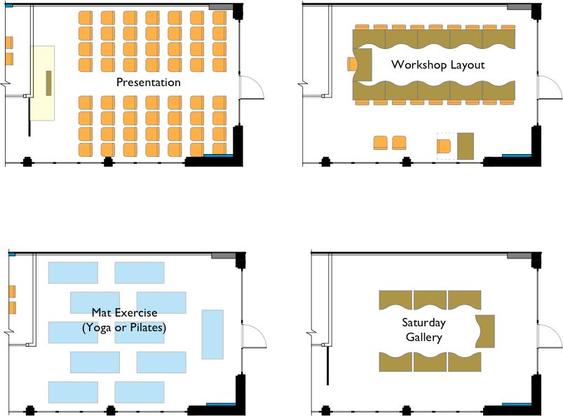 alternative layouts Export